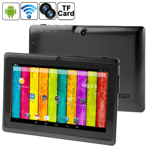 Original 7.0 inch Android 4.2.2 Tablet PC 360 Degree Menu Rotate, CPU: Allwinner A23, 1.2GHz(Black)