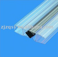 shower room glass door magnetic seal strip