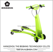 HANGZHOU THE BIGBANG factory price Frog Scooter / Swing Scooter / Trikke Wheel Scooter wholesale cheap price