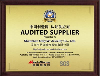SGS Audited Certification