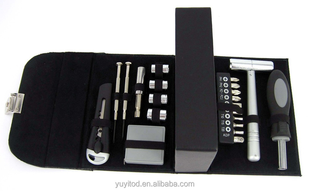 21pcs high quality hand tool kits with tool bag