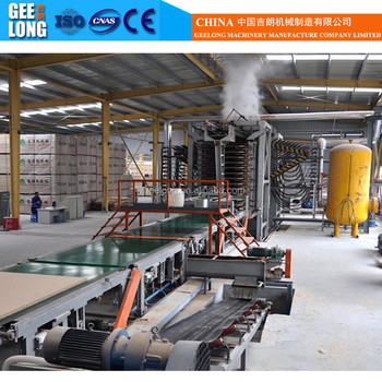 core particle board production line