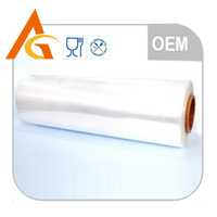 Best price clear shower curtain material pe cling film