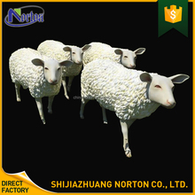Chinese suppliers cartoon fiberglass sheep sculpture NT--FS214A