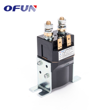 OFUN Auto Winch Relay 1 Pole Magnetic Dc Contactor