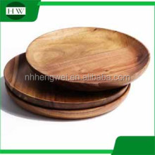 The customized shape mini wooden dish crafts