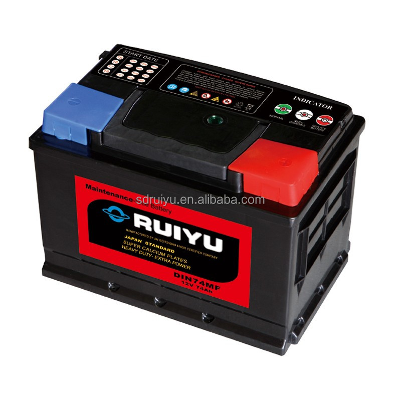 supplier 80d26l mf car battery 12v 70ah low price