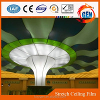Materials used for false ceiling with 1.5meters to 3.2 meters width for hotels