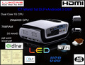 Super bright !!! C7 led projector short throw with WIFI and DLNA