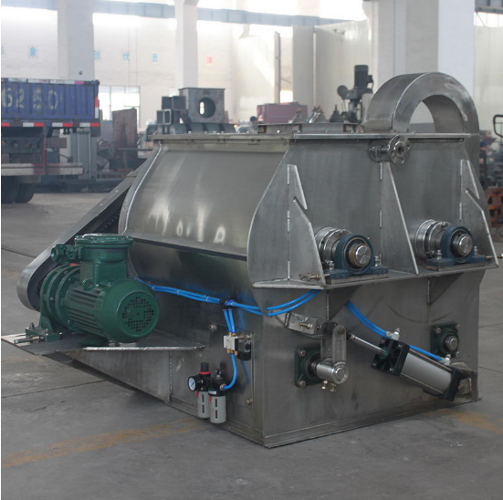 New design concrete mixer machine for animal feed
