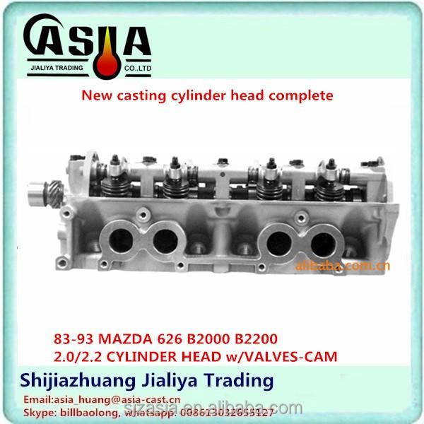 1998 Mazda 626 Camshaft: 93 MAZDA 626 B2000 B2200 2.0 / 2.2 Culasse W / VALVES