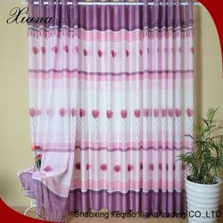Newest 100% polyester embroidered finished curtain/modern curtain