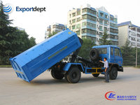 chinese used 10cbm arm roll off garbage truck drawing for sale