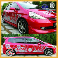 Custom full car body wrap sticker design vinyl printing