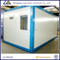 Prefabricated modular prefab houses container living room prices