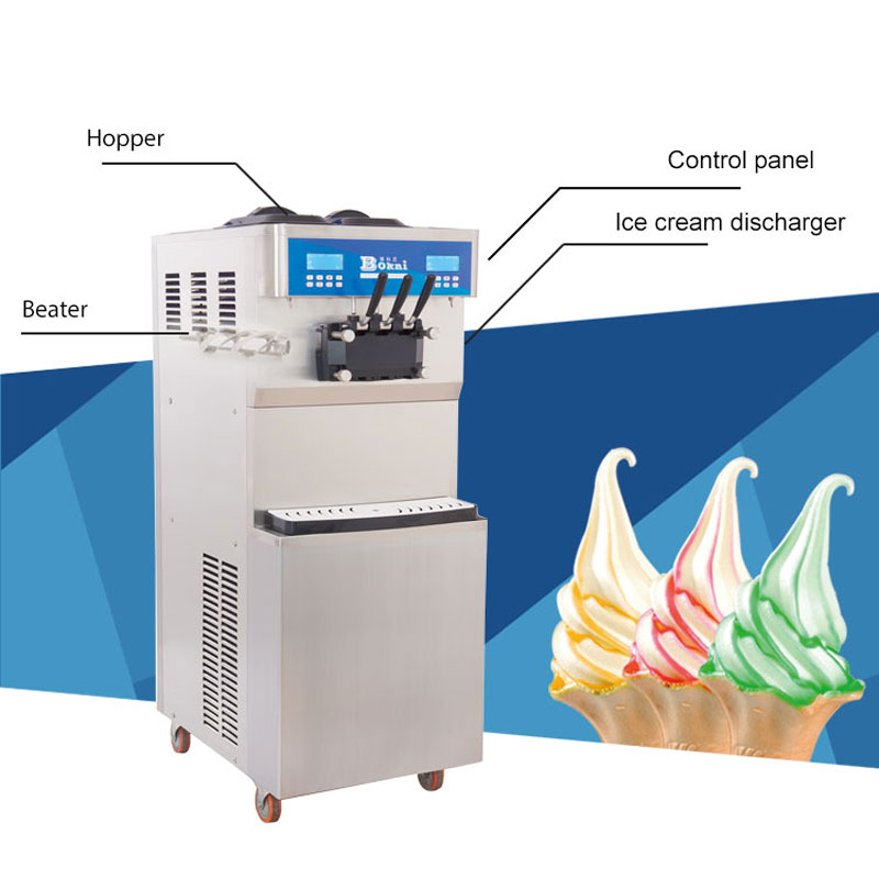 commercial ice cream making machine/soft serve ice cream machine/frozen yogurt machine