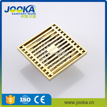 titanium plated full copper bathroom floor drains
