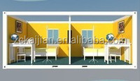 40ft shipping container house/two storey house plans/ flat pack house price