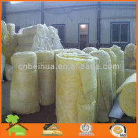 Vacuum Packing Fiber Glass Wool Board with Fireproof and Rebound Rate
