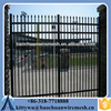 Square steel fence posts 1.5m* 2.4m Powder coated wrought iron fence/pool fence panels