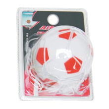High Quality Portable Hanging Plastic Material Car Scent Diffuser Football Shape Car Air Freshener