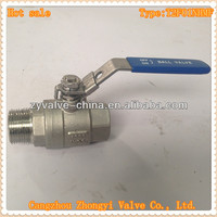 1000 wog male female screwed full port 2 way ball valve