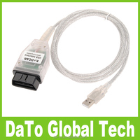 Free Shipping New K DCAN USB Interface Diagnostic Cable Connector for BMW
