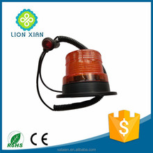 portable magnetic revolving led beacon strobe light