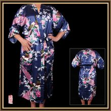 Good quality promotional eco-friendly satin kimono robe fabric