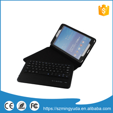 China manufacturer bluetooth keyboard leather case for ipad air