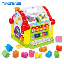 Funny Music House Arabic Educational Toys House Plastic Abacus Toy Geometric Shapes
