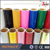 Self Adhesive Vinyl For Cutting Plotter, Glossy Computer Cutting Color PVC Vinyl