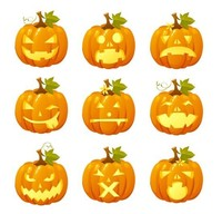 Inflatable Lighted Outdoor Pumpkin Decorations