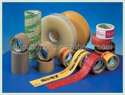 BOPP Film Acrylic Adhesive / Easy Tear Adhesive Tape for Packing  Use
