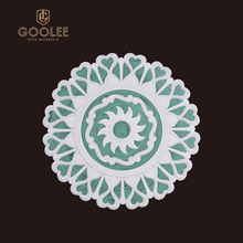 Goolee Hot Sales Chic Polyurethane Material Ceiling Medallion For Decorative