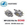 HUAYANG CE Approved MP- 232 Fits For ECHO CS-510 CS-520 Chain Saw WT-594