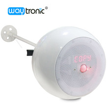 Smart clock display indoor pendant ceiling sound music ball speaker with timer function