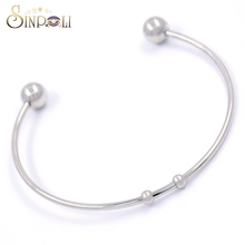 Mens Blank Cuff Bracelets Wholesale Stainless Steel Jewelry Bangle