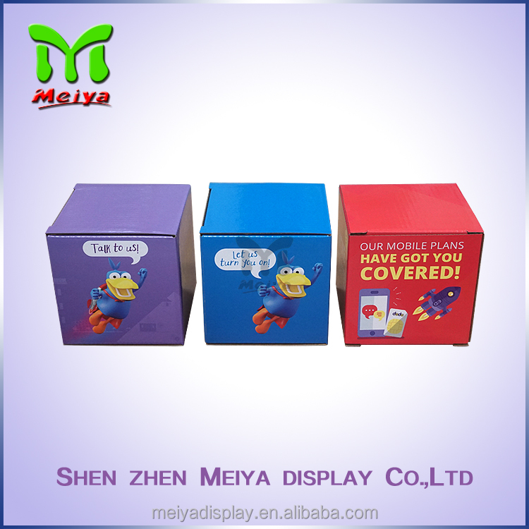 Full color printed small sizes paper packaging box,custom paper gift box