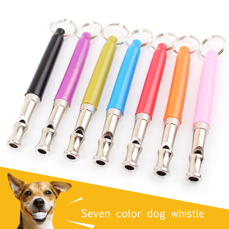 Candy color 8cm dog training whistle professional pet dog whistle training