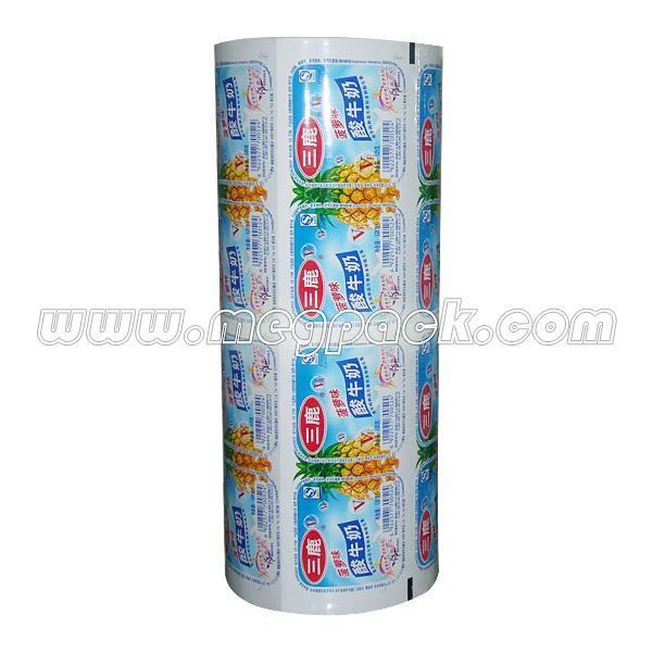Sealer / Sealing Roll Film Stock For Jelly / Chocolate Cup