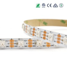 60 pixel IC inside 5050 color changing programmable flow led strip light
