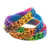 Custom made debossed/embossed/printed silicone wristband, easy to use silicone bracelet