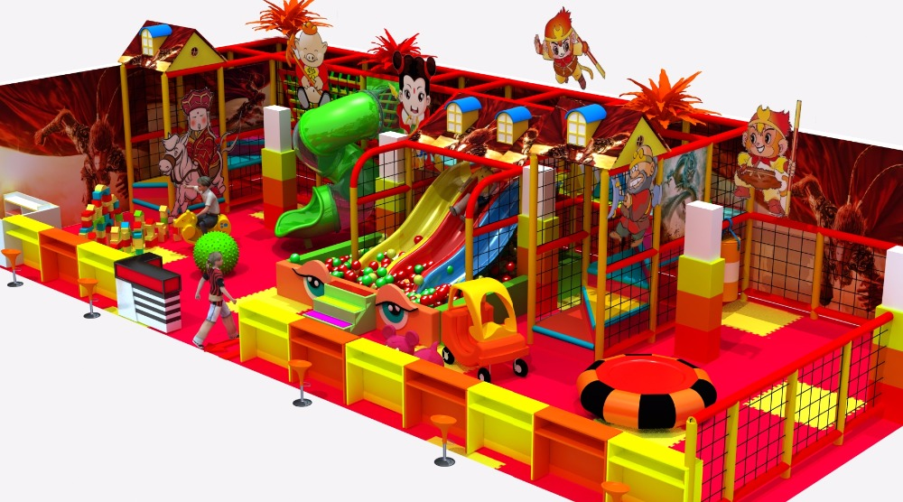 High-quality indoor children's new playground equipment
