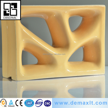 handmade soundproof decoration film for furniture wall 3d hollow ceramic block