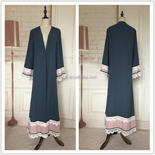 New Color baju kurung New Fashionable Trendy good sewing Abaya borong jubah vietnam dubai abaya