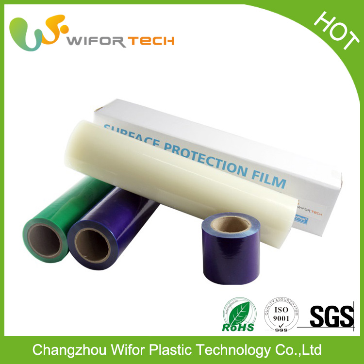 High Quality Chinese Blue Adhesive Protective Film For Window Glass