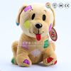 cute custom plush dog , stuffed dog plush toy, soft plush toy dog