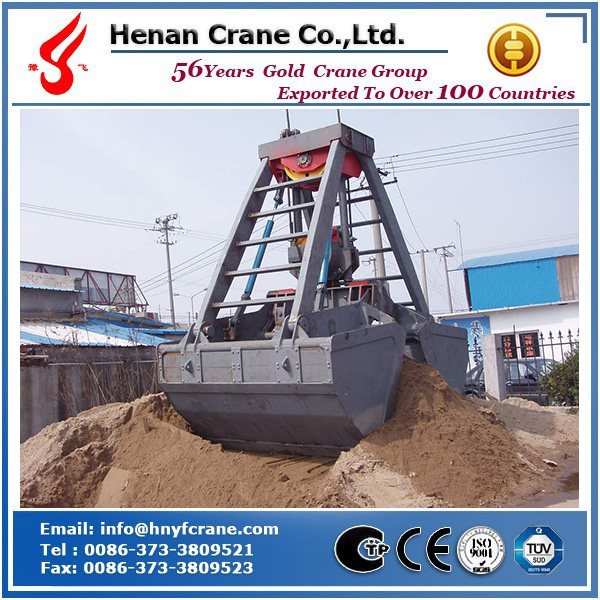Double Rope Clamshell Grab Bucket Factory In China