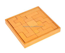 Wooden Domino 13 Puzzle Block Jigsaw Toy Building Blocks